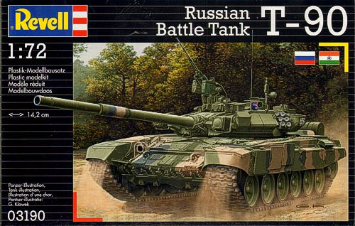 T90 Russian Battle Tank