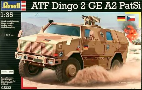 Dingo 2A2 Armored Military Vehicle
