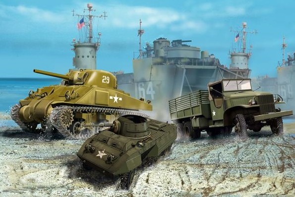 WWII US Army Vehicles Reissue