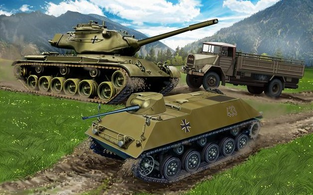 German Army Vehicles Reissue