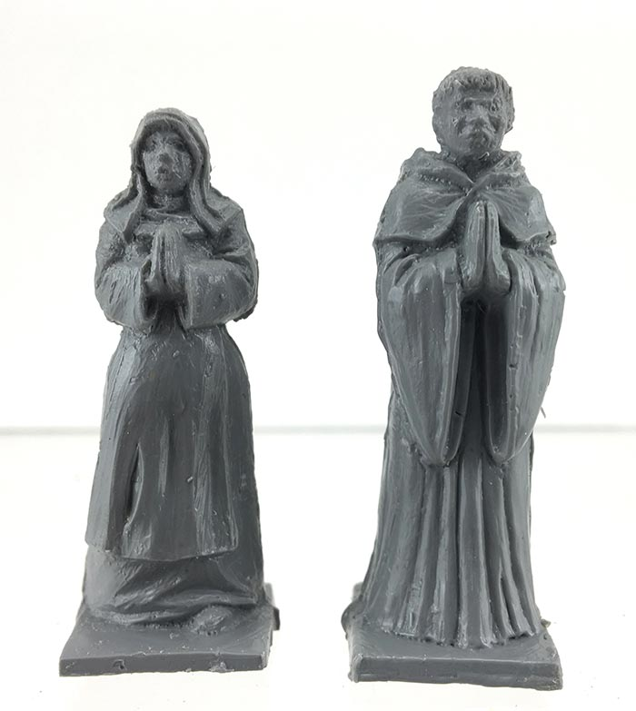 Medieval Monk and Nun