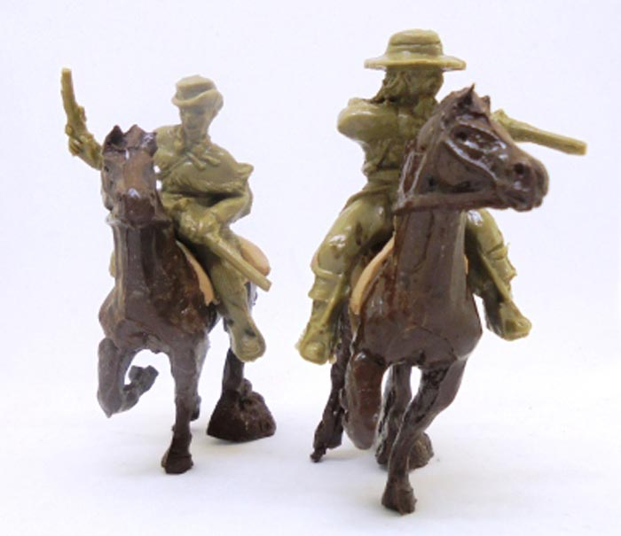 Texas Rangers Mounted Set 2