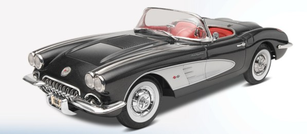 1958 Corvette Roadster (2 in 1)