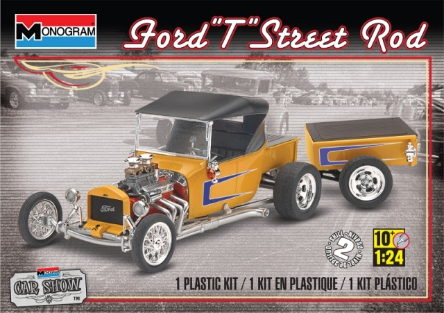 Ford T Street Rod w/Pull-Along Trailer