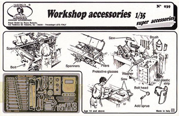 Workshop Accessories (Photo-Etch)