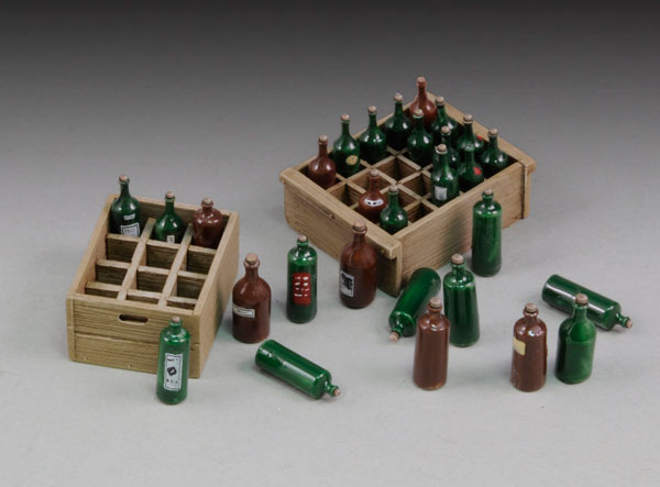 Wine Bottles & Crates