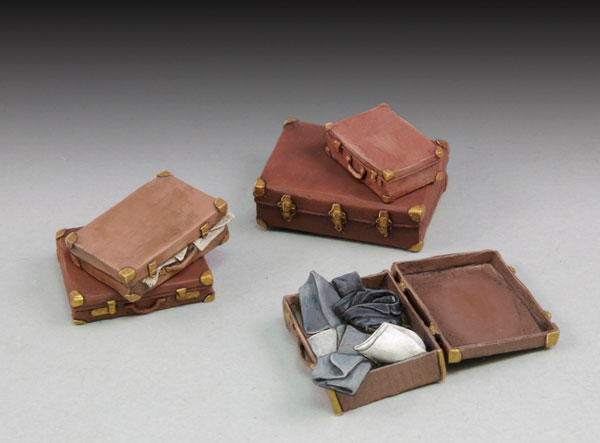 Assorted Suitcases (5)