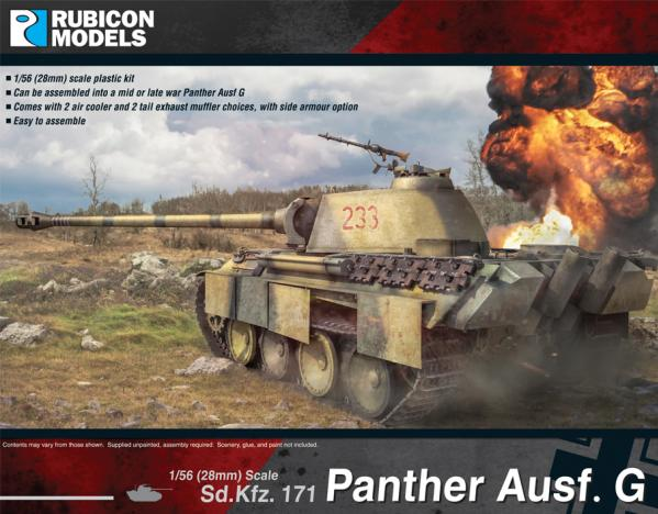 WWII German Panther Ausf G