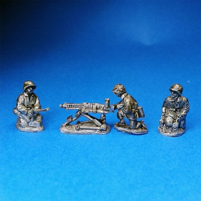 Waffen SS Panzergrenadier MMG and crew