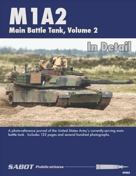 M1A2 Main Battle Tank Volume 2 In Detail