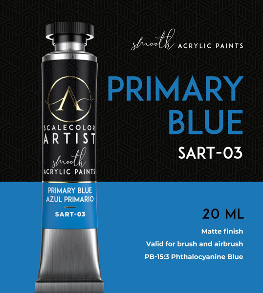 Scale Color Artist: Primary Blue 20ml