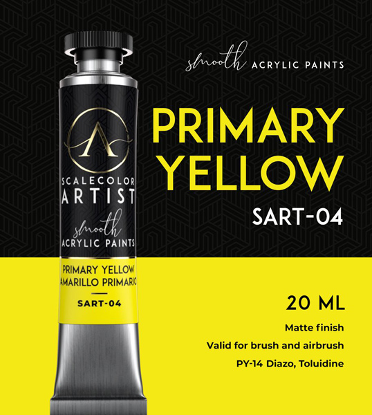 Scale Color Artist: Primary Yellow 20ml