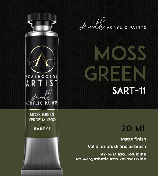 Scale Color Artist: Moss Green 20ml