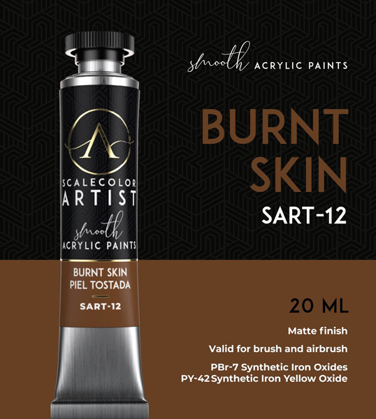 Scale Color Artist: Burnt Skin 20ml
