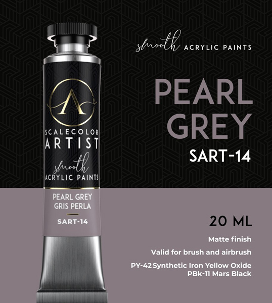 Scale Color Artist: Pearl Grey 20ml