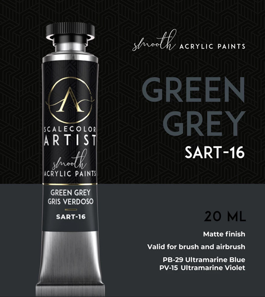 Scale Color Artist: Green Grey 20ml