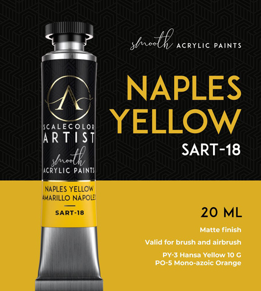 Scale Color Artist: Naples Yelow 20ml