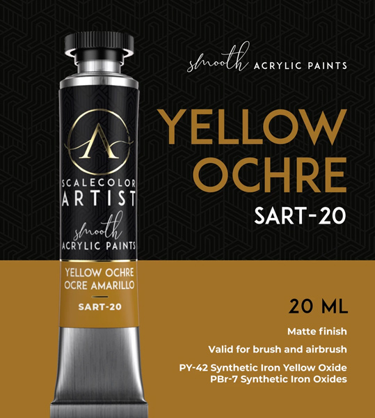 Scale Color Artist: Yellow Ochre 20ml
