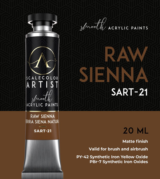 Scale Color Artist: Raw Sienna 20ml
