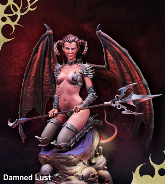Scale World Fantasy: Damned Lust