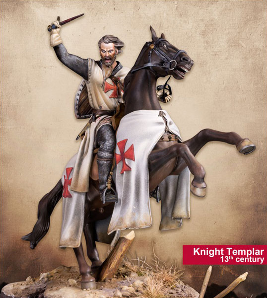Middle Ages: Knight Templar, 13th Century