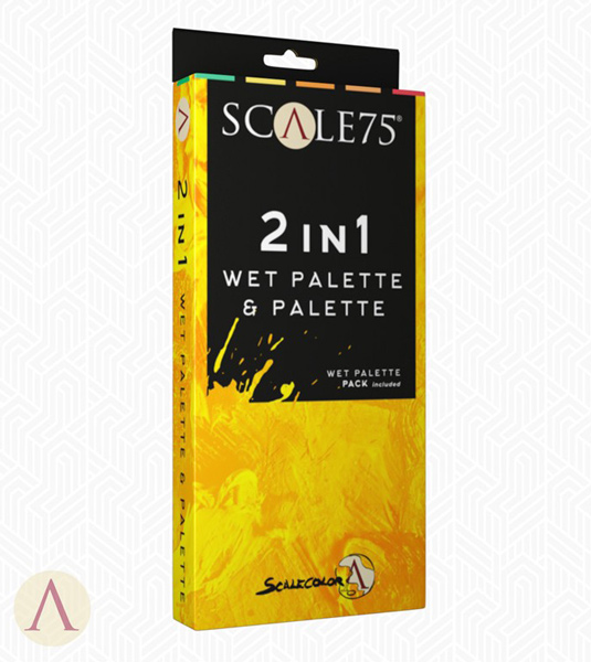 2 in 1 Wet Palette and Palette