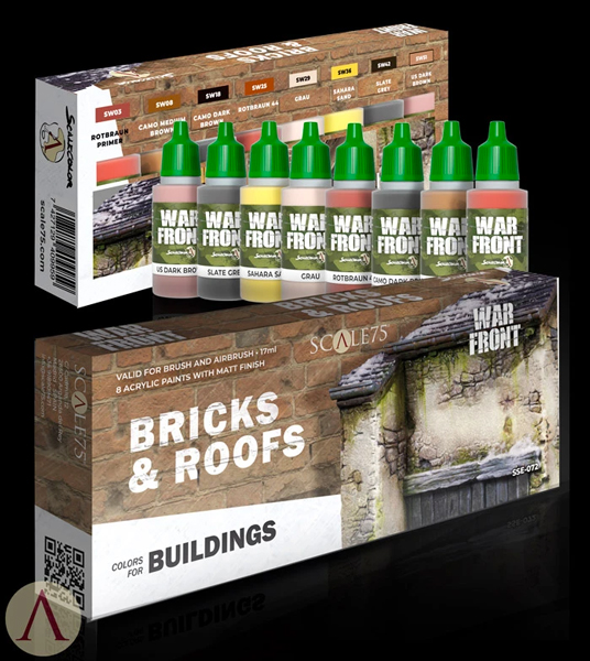 Bricks & Roofs- Colors For Buildings