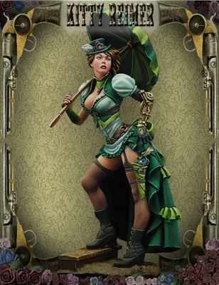 Steam Wars: Kitty Reimer (Steam Punk)