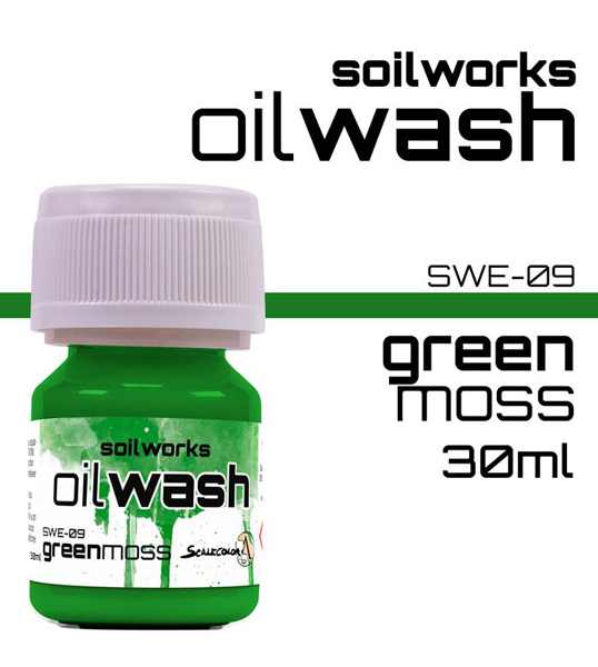Soilworks Oil Wash - Green Moss