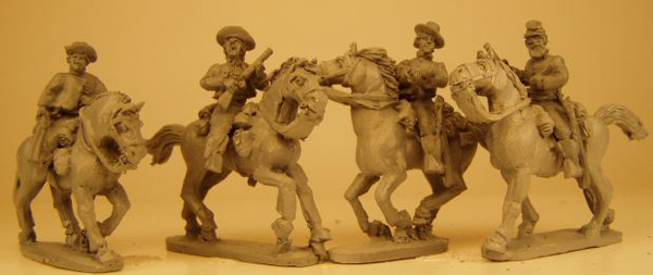 Confederate Cavalry Troopers (Shotguns)