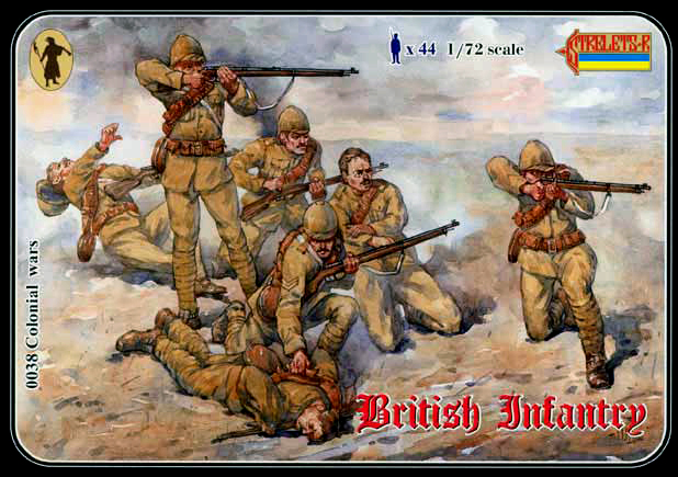 Strelets R 2019 REISSUE  - British Line Infantry 1898-1902 - ONLY 2 AVAILABLE AT THIS PRICE