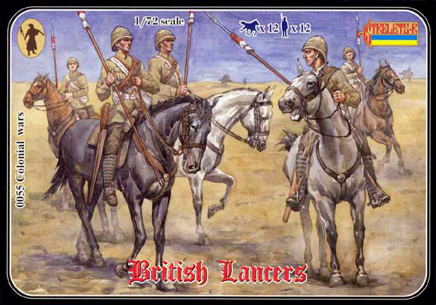 Strelets R 2019 REISSUE - British Lancers 1898-1902
