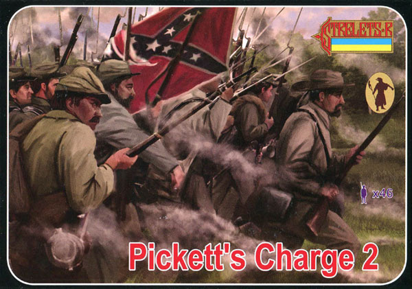 Strelets R - ACW Picketts Charge Gettysburg Set 2