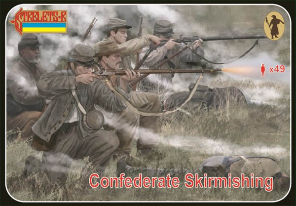 Strelets R - ACW Confederates Skirmishing