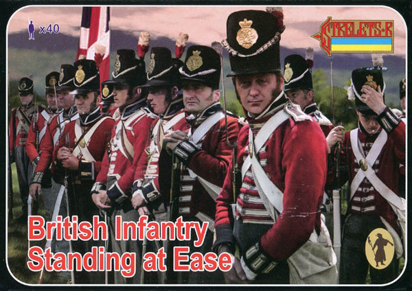 Strelets R - Napoleonic British Infantry Standing at Ease