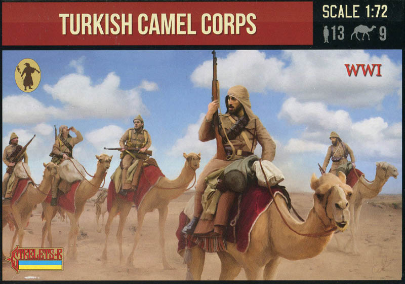 Strelets R - WWI Turkish Camel Corps