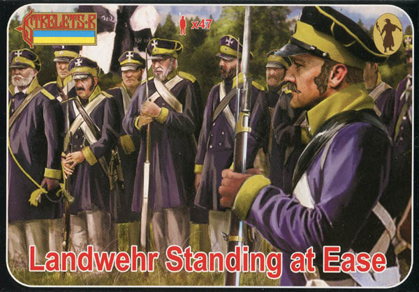 Strelets R - Landwehr Standing at Ease