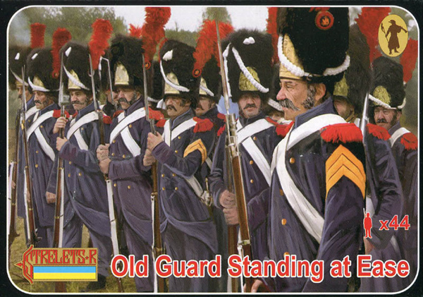 Strelets R - Napoleonic Old Guard Standing at Ease