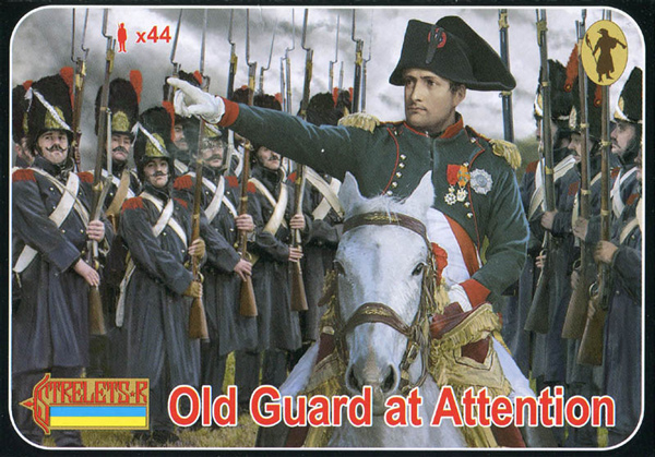Strelets R - Napoleonic Old Guard Standing at Attention