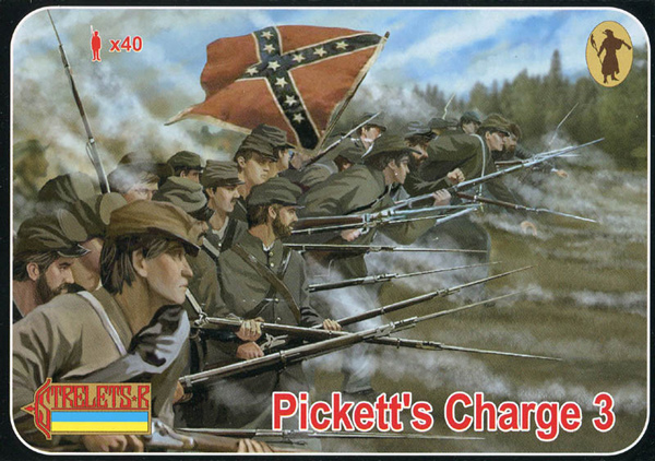 Strelets R - ACW Picketts Charge Gettysburg Set 3