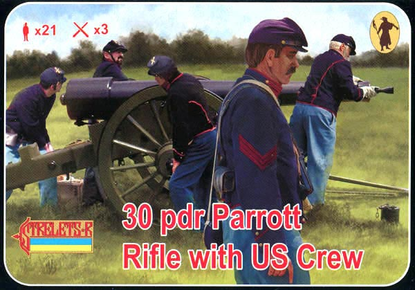 Strelets R - 30 pdr Parrott Rifle with US Crew