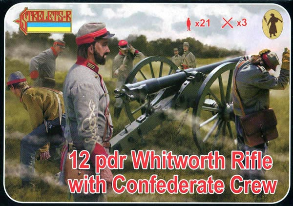 Strelets R - Whitworth Rifle with Confederate Crew