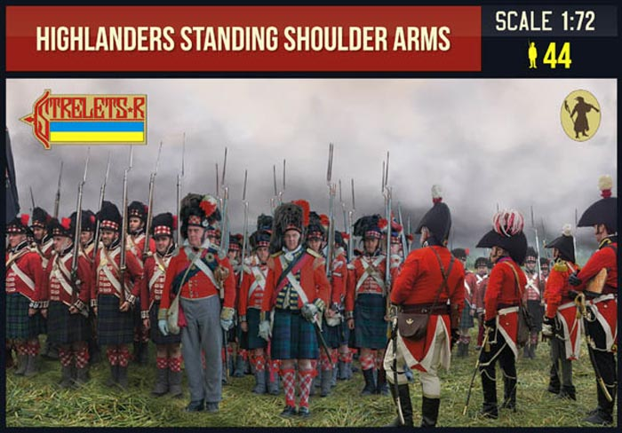 Highlanders Standing Shoulder Arms
