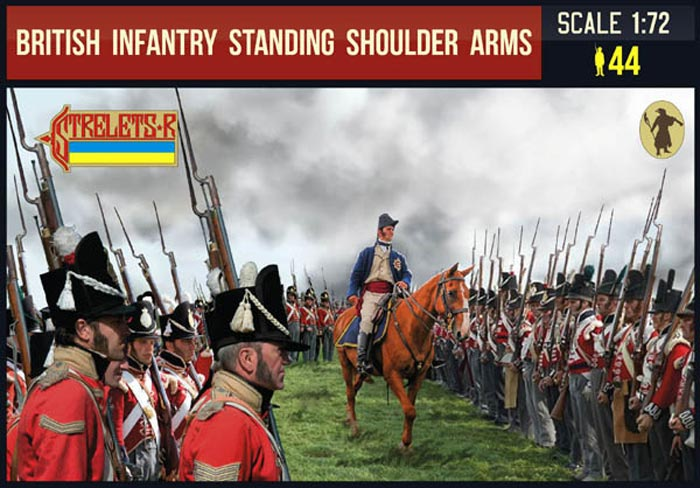 British Infantry Standing Shoulder Arms