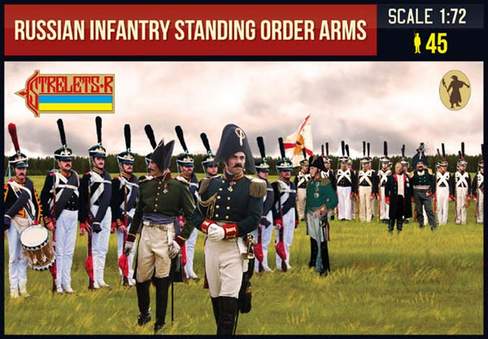Russian Infantry Standing Order Arms