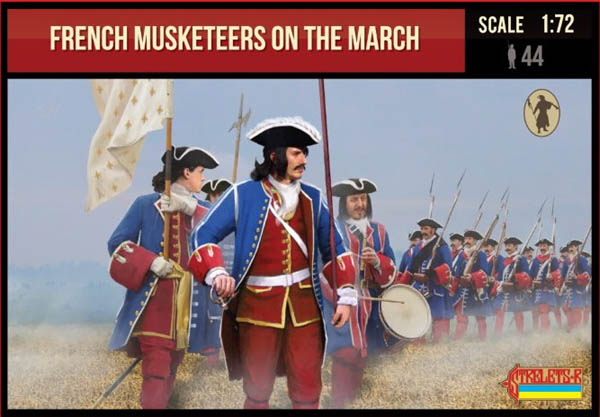French Musketeers on the March