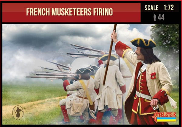 French Musketeers Firing
