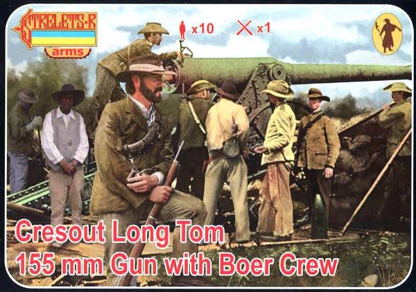 Strelets Arms - Cresout Long Tom 155mm with Crew