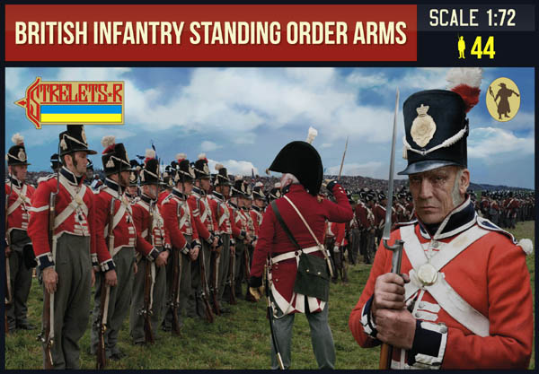 British Infantry Standing Order Arms