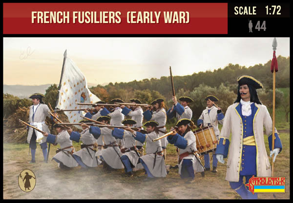 French Fusiliers (Early War)  1701-1714 Spanish Succession War